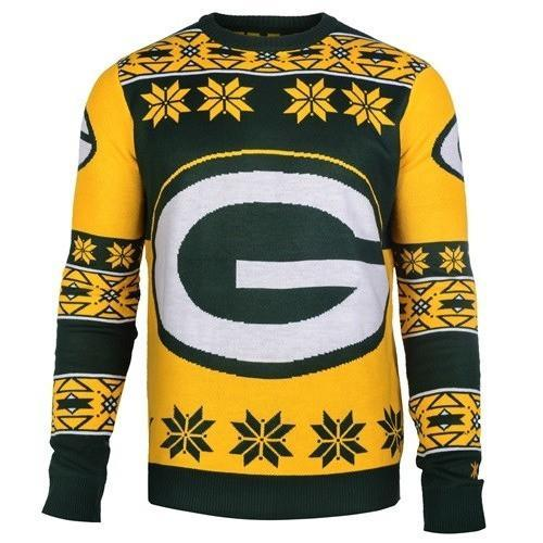 green bay packers ugly christmas sweater 1