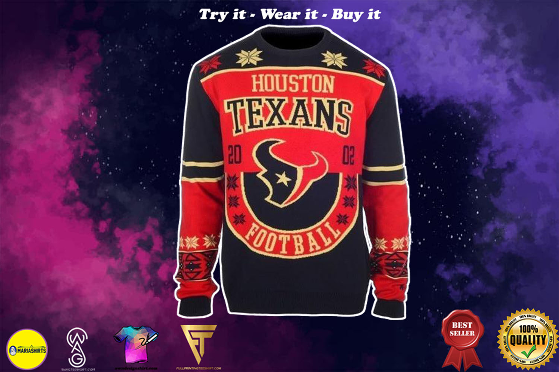 houston texans ugly christmas sweater