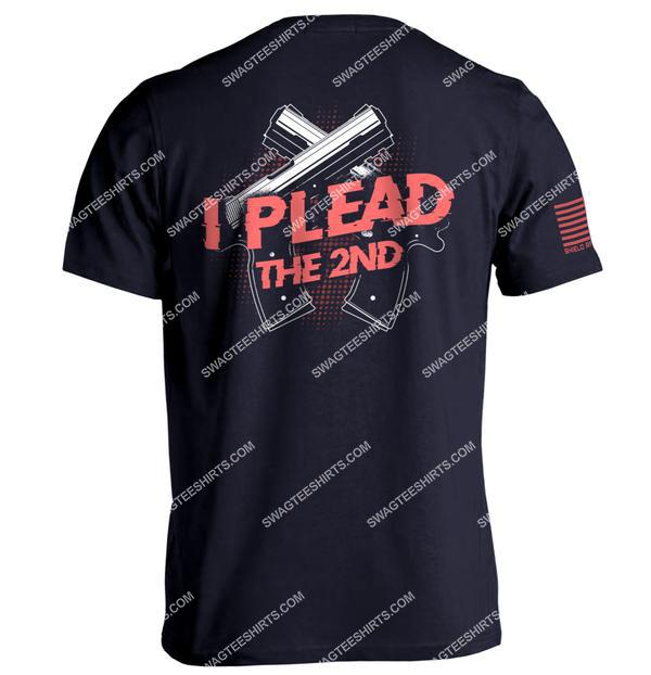 i plead the 2nd gun control political full print shirt 1