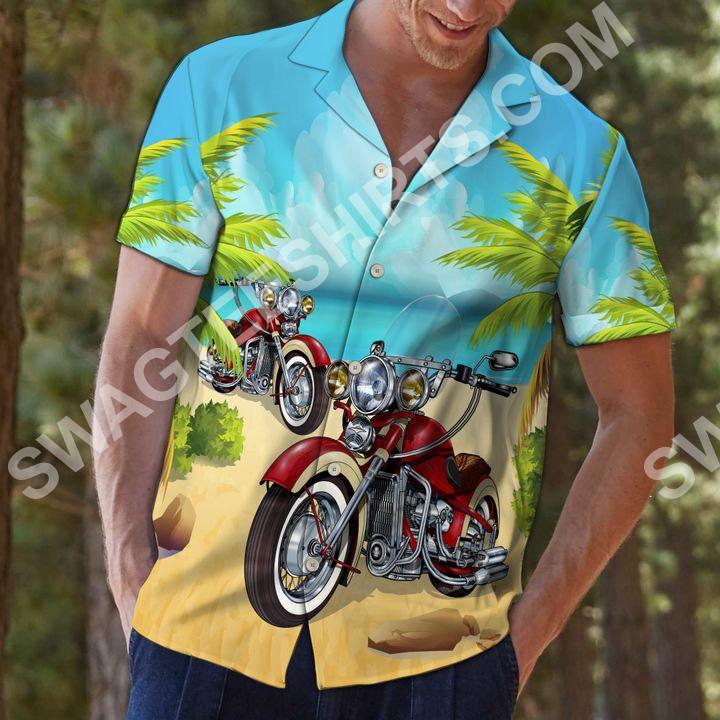 motorcycles aloha all over printed hawaiian shirt 3(1)