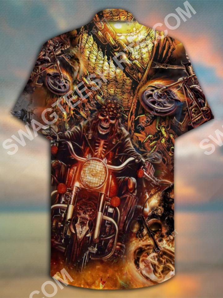 motorcycles skull all over printed hawaiian shirt 3(1)