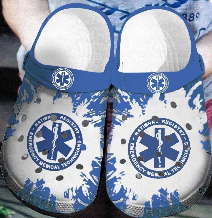 national registry of emergency medical technicians nurse crocband clog 1 - Copy