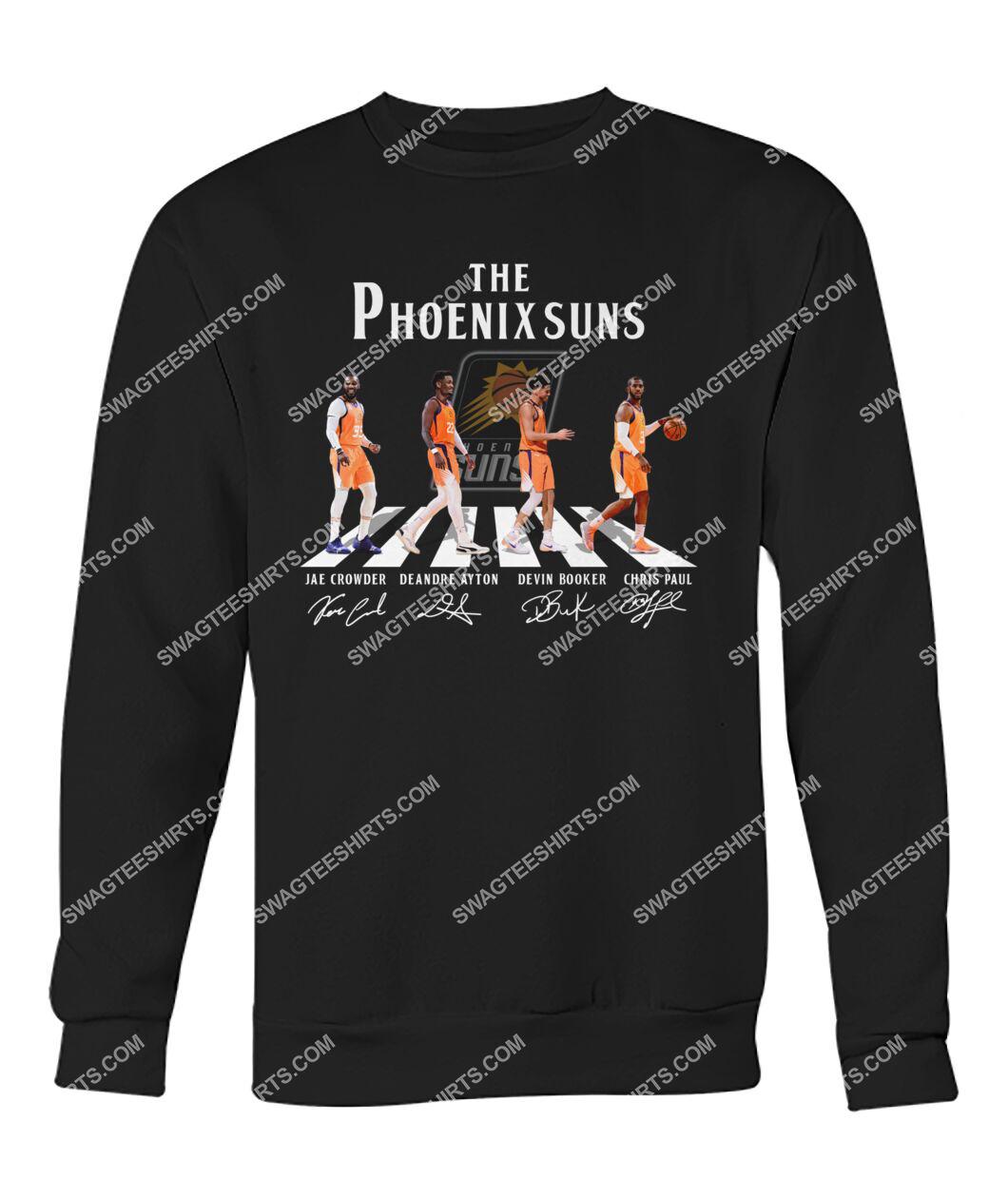 nba phoenix suns signatures abbey road sweatshirt 1
