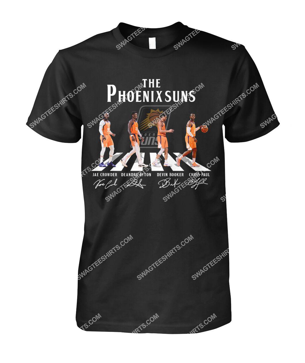 nba phoenix suns signatures abbey road tshirt 1