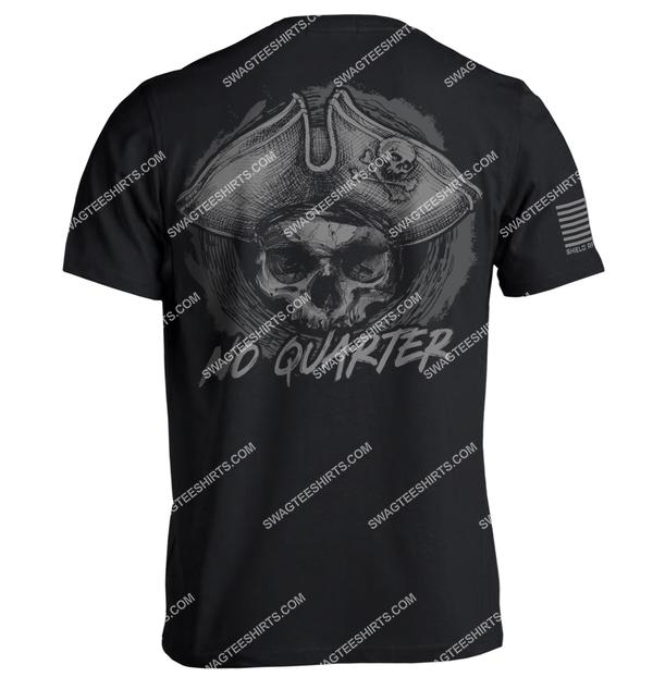 no quarter skull vintage full print shirt 1