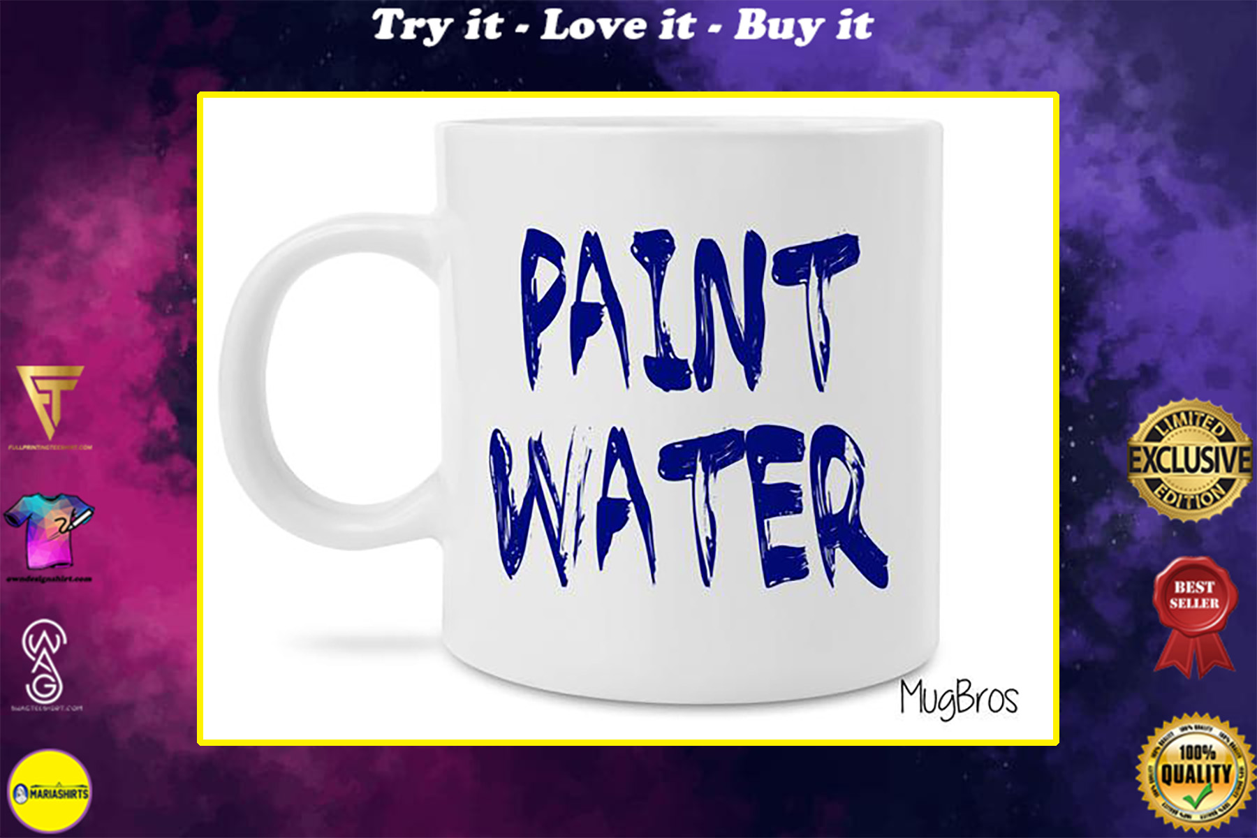 paint water watercolor art coffee mug