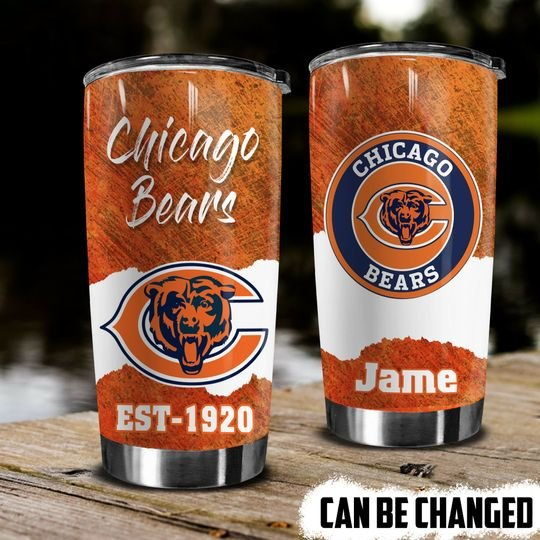 personalized name chicago bears american football team tumbler 1 - Copy (2)