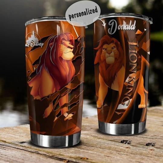 personalized name lion king simba tumbler 1 - Copy (2)