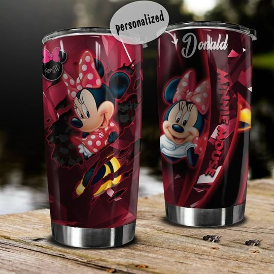 personalized name minnie mouse tumbler 1 - Copy (2)