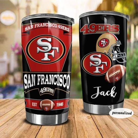 personalized name san francisco 49ers american football team tumbler 1 - Copy (2)