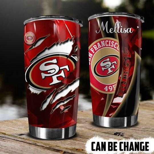 personalized name san francisco 49ers football team tumbler 1 - Copy (2)
