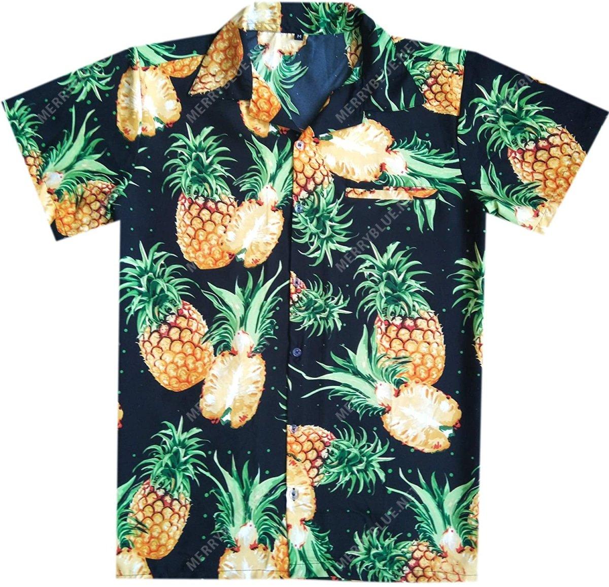 pineapple tropical all over printed hawaiian shirt 2