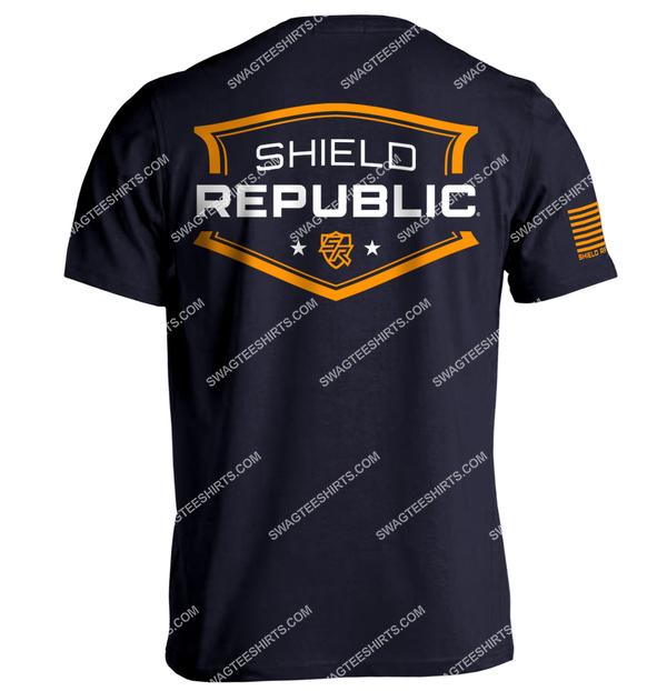 shield republic badge political full print shirt 1