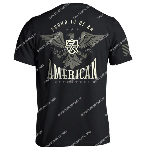 shield republic proud to be an american political shirt 1