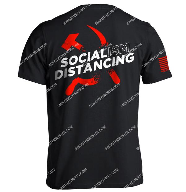 socialism distancing anti socialism political full print shirt 3