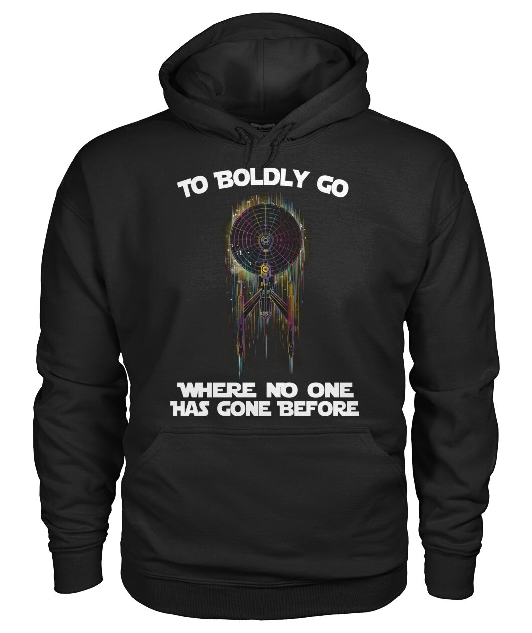 star trek to boldly go where no one has gone before hoodie