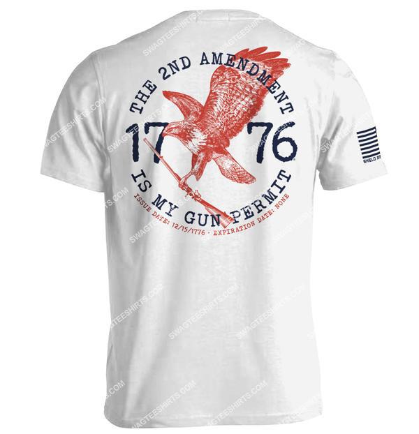 the 2nd amendment is my gun permit political full print shirt 1