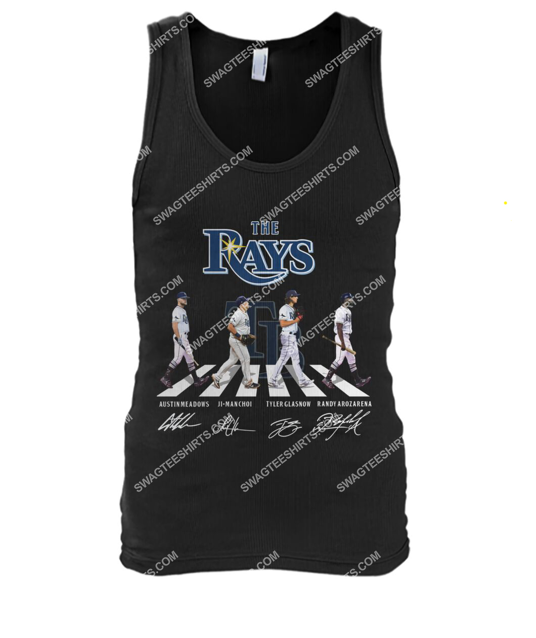 the tampa bay rays walking abbey road tank top 1