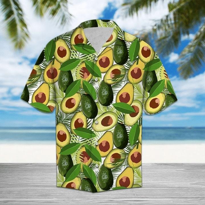 tropical avocado all over printed hawaiian shirt 2