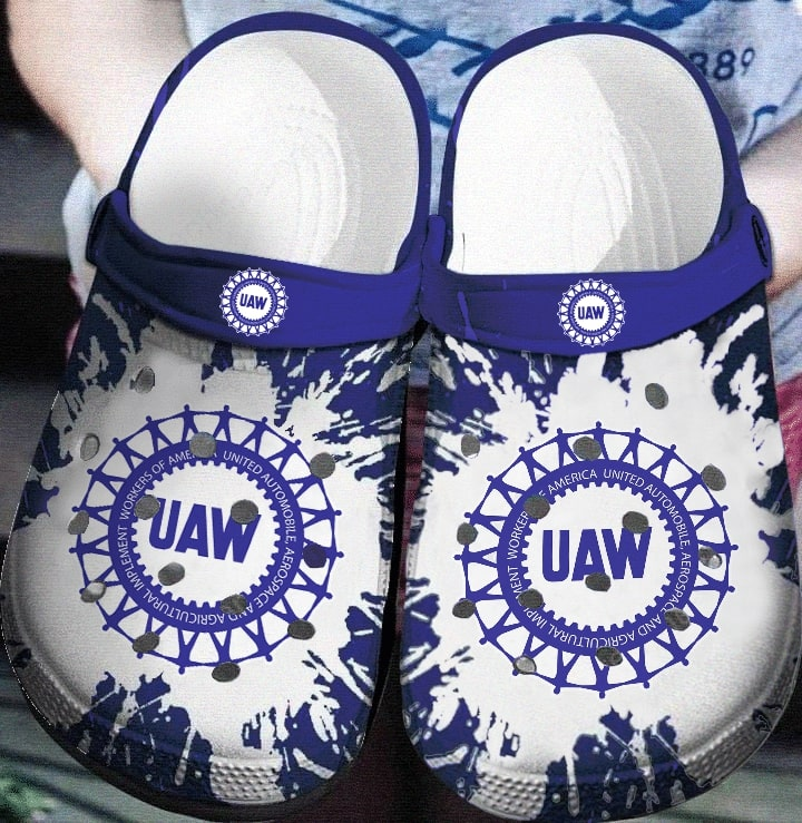 united automobile aerospace and agricultural implement workers of america crocband clog 1