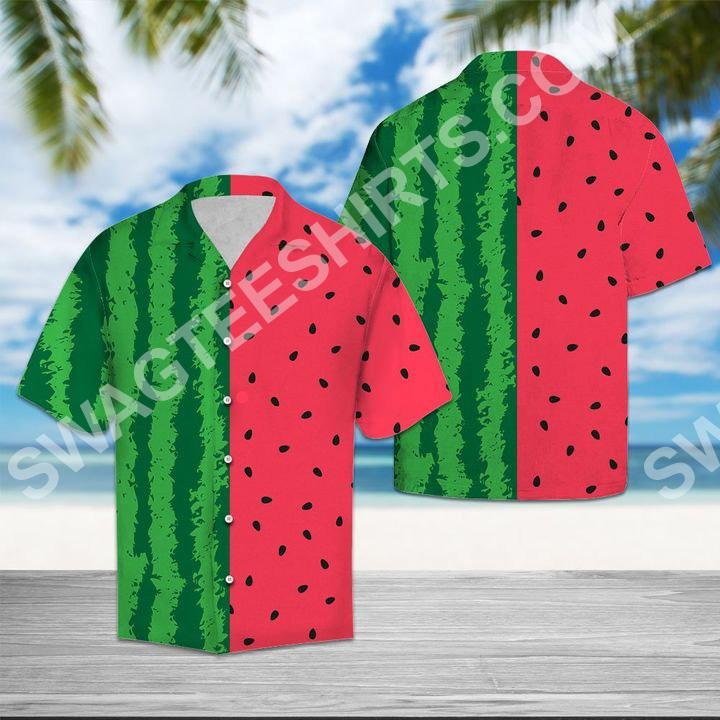 watermelon tropical all over printed hawaiian shirt 2(1) - Copy