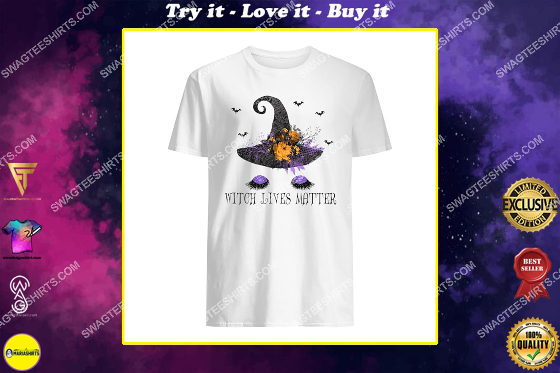 witch lives matter for halloween night shirt