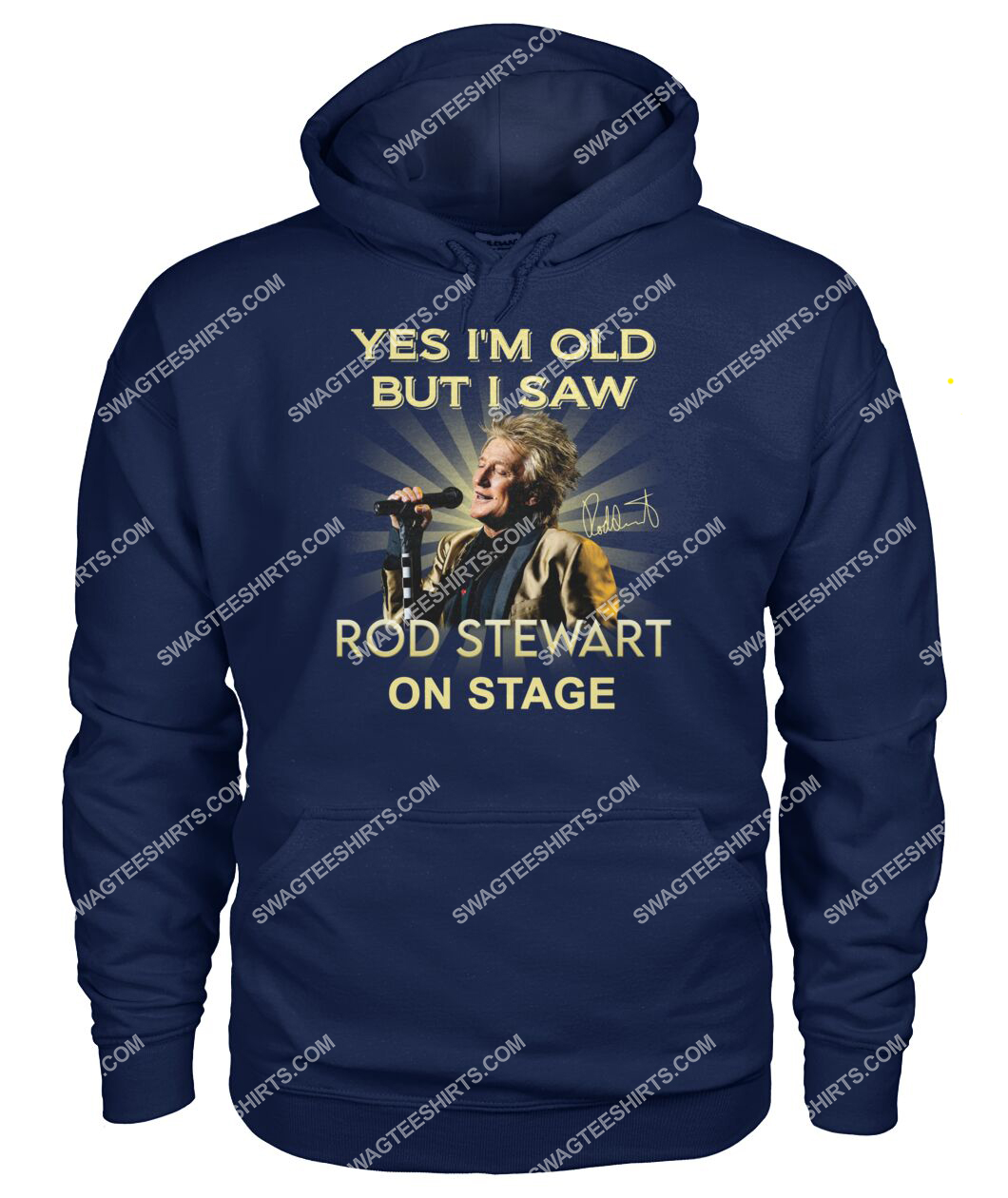 yes i am old but i saw rob stewart on stage vintage hoodie 1
