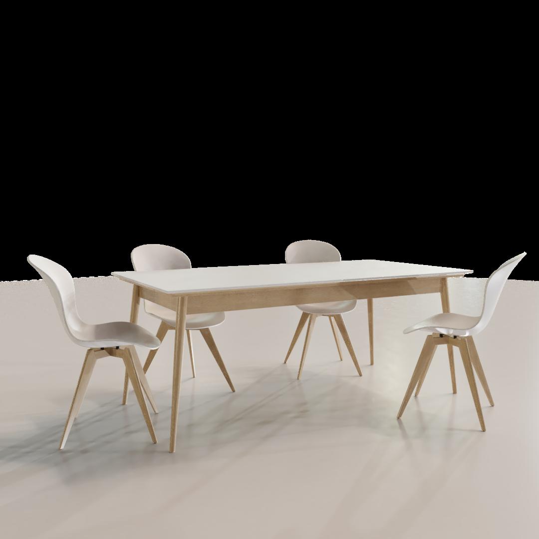Scandinavian Style Dining Table Imeshh