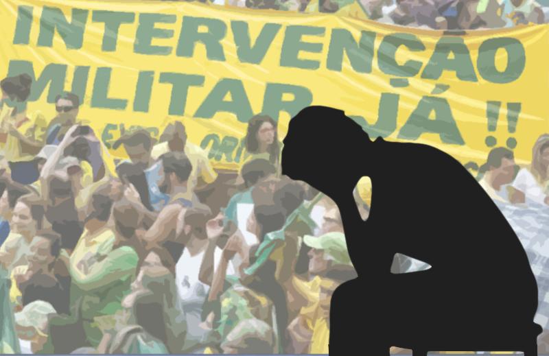 """Manifestações pela intervenção militar: a """"Direita"""" que ajuda a Esquerda"""
