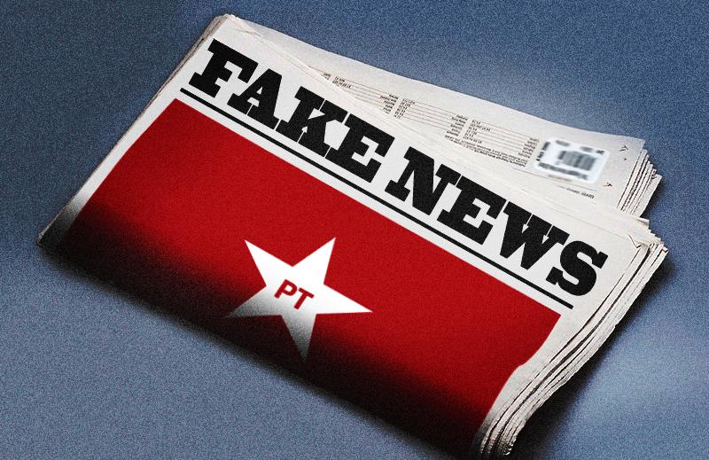 """Se a Band quer falar de """"Fake News"""" e """"pós-verdade"""", devia falar do PT"""