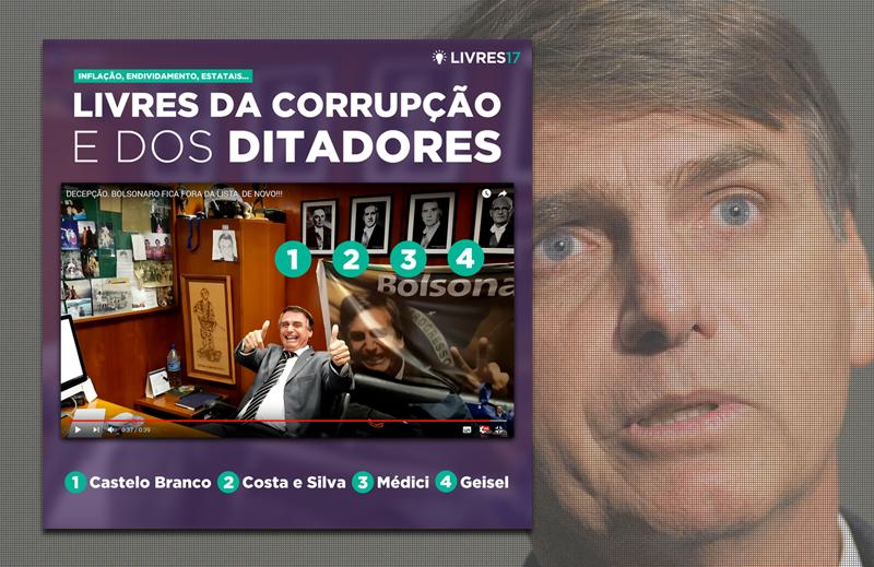 Bolsonaro e PSL unidos na simplificação histórica