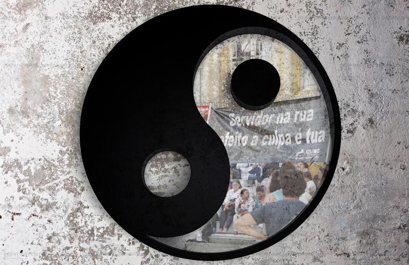 Ying-Yang, dinheiro público e protestos