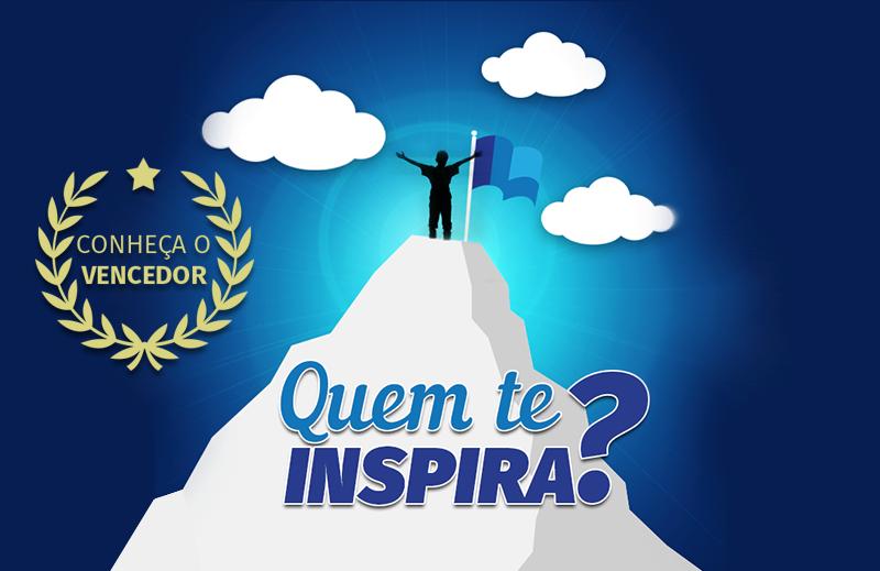 """Conheça o vencedor do Concurso Cultural """"Quem te inspira?"""""""