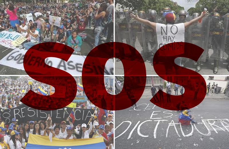 Liberdade versus repressão: SOS Venezuela