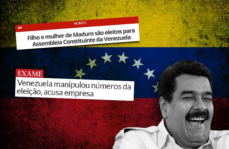 Venezuelanos, saibam que, apesar da esquerda, nós nos importamos