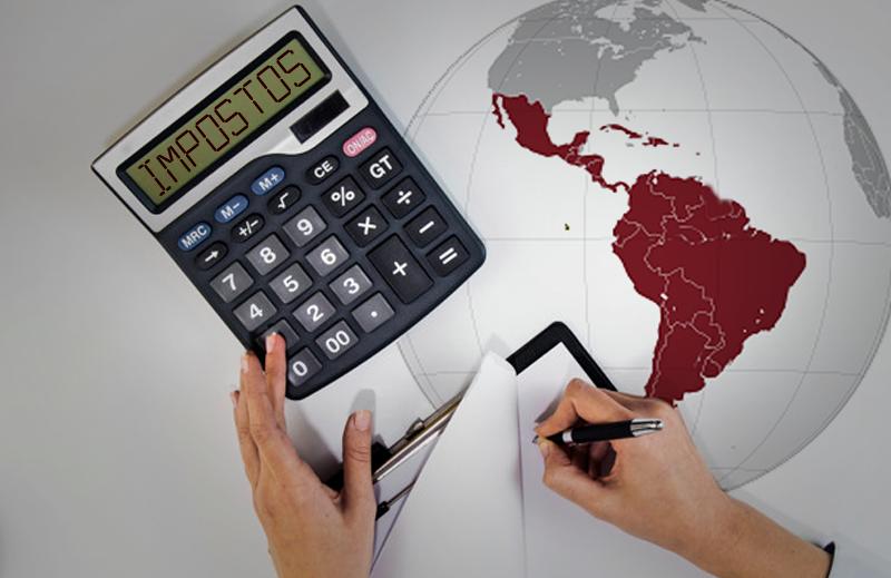Estrutura de impostos no Brasil e nos países da América Latina e Caribe
