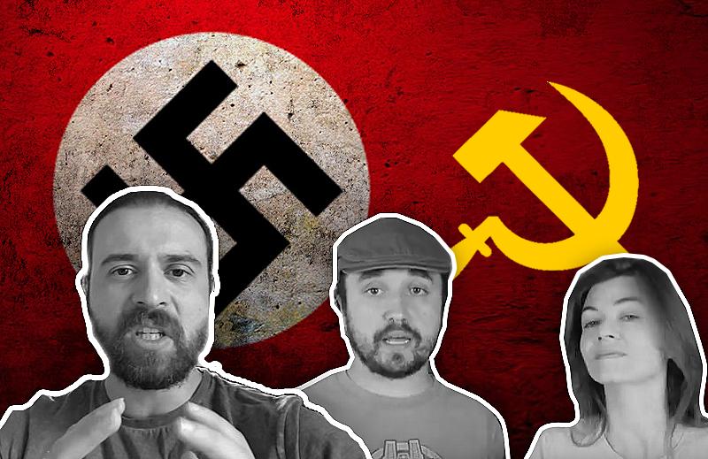 Nando Moura, Leon, Nilce, Nazismo, a Direita e a Esquerda