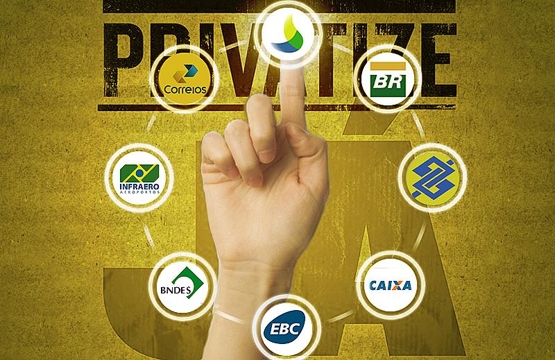 Governo pretende realizar quase 60 privatizações, entre elas a da Eletrobras