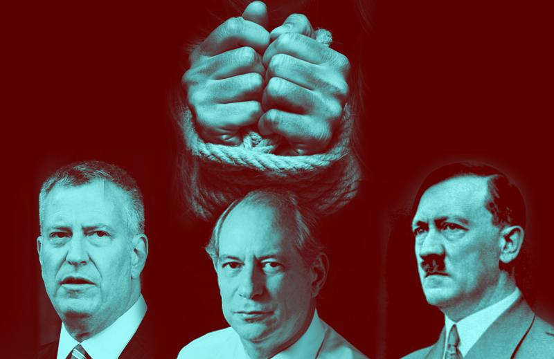 O que o prefeito de Nova York, Ciro Gomes e Adolf Hitler têm em comum?