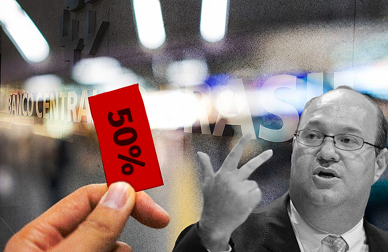 """Presidente do BACEN diz que é preciso acabar com """"meia-entrada"""" nos juros"""