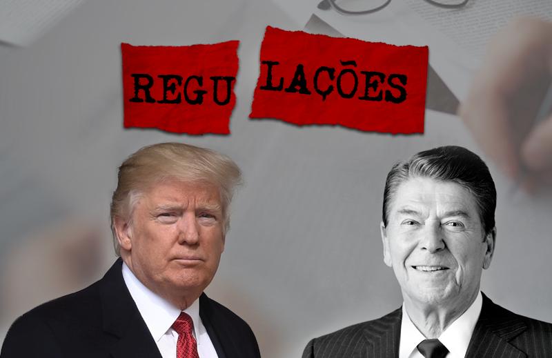 Trump já está à frente de Reagan em corte de regulação: algo que a CNN não vai mostrar