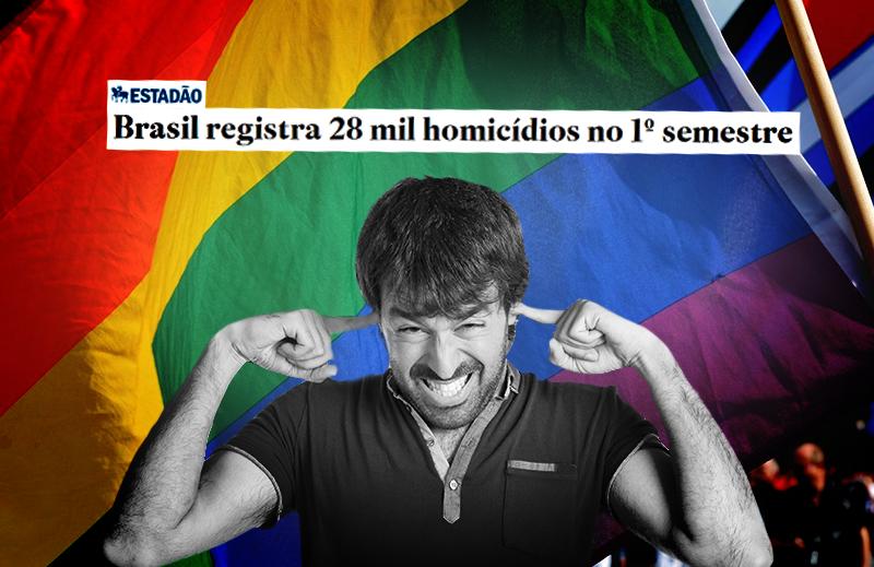 Pior que a homofobia, é a Ratiofobia: o  medo/aversão da razão