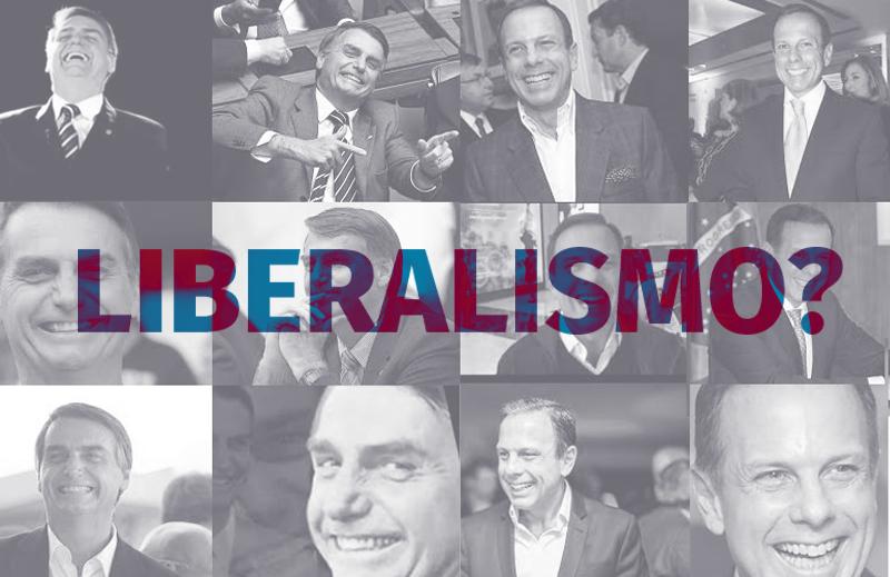 O liberalismo de conveniência de João Doria e Jair Bolsonaro