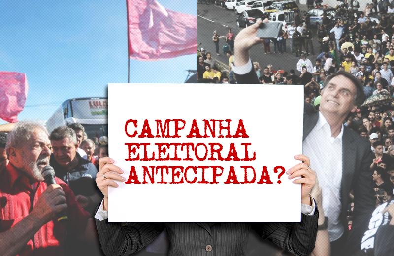 Políticos fazem campanha antecipada por causa de legislação eleitoral ineficaz