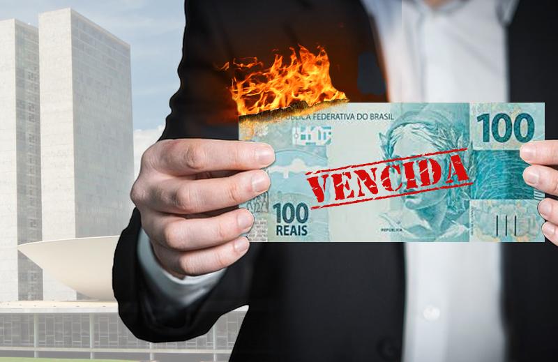 Senado quer papel-moeda com prazo de validade: inválida é a lógica do projeto!