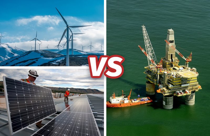 Por que as energias eólica e solar jamais substituirão os combustíveis fósseis?