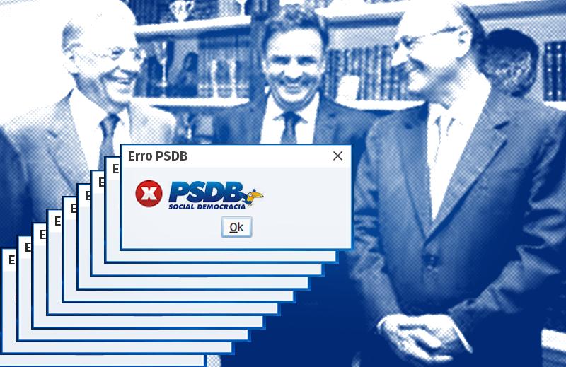 O PSDB parece não cansar de errar