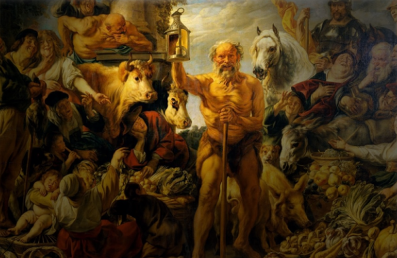 A Lâmpada de Diógenes para encontrar um multiculturalista honesto