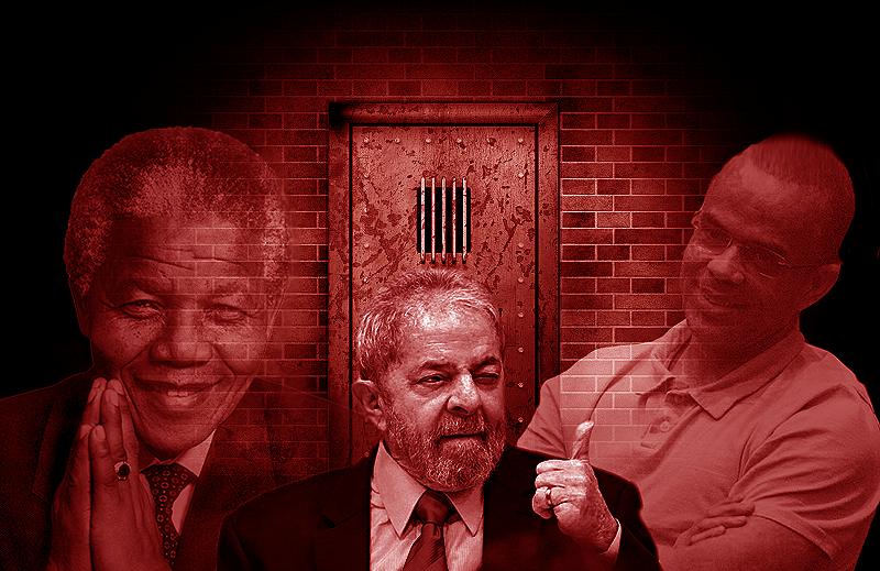 Se Lula for preso será o novo Nelson Mandela ou Fernandinho Beira-Mar?