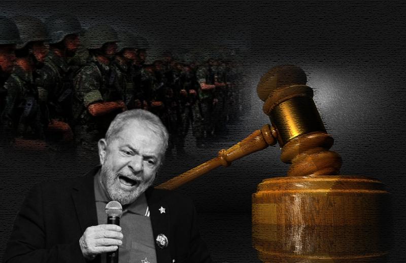 Por um Brasil em que o julgamento do Lula dispense a presença do Exército